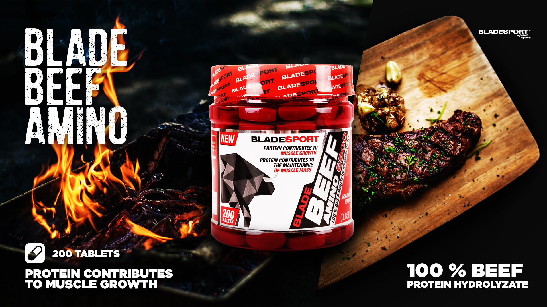Blade sport Beef Amino